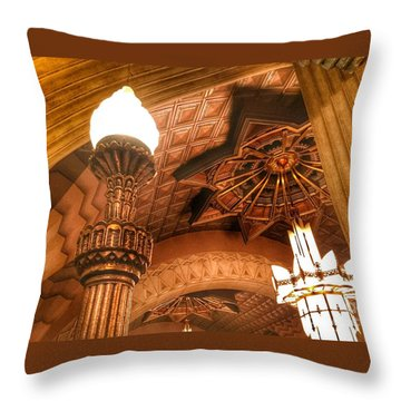 Art Deco Ceiling Throw Pillow