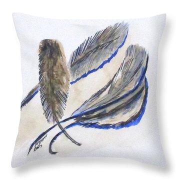 Art Doodle No. 21 Throw Pillow