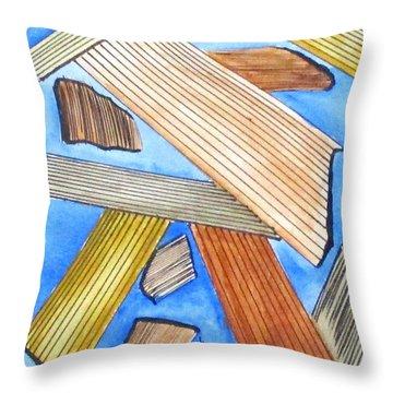 Art Doodle No. 24 Throw Pillow