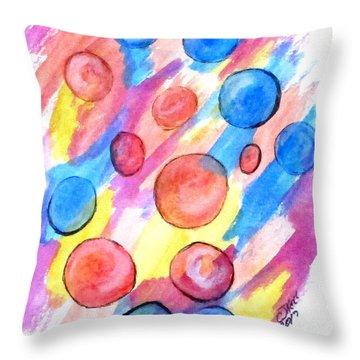 Art Doodle No. 25 Throw Pillow