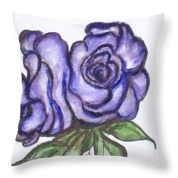 Art Doodle No. 26 Throw Pillow