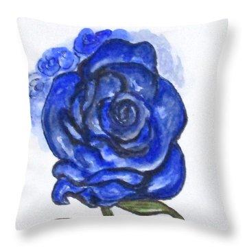 Art Doodle No. 27 Throw Pillow
