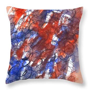 Art Doodle No. 28 Throw Pillow