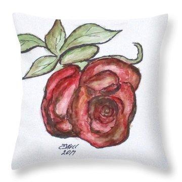 Art Doodle No. 29 Throw Pillow