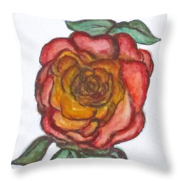 Art Doodle No. 30 Throw Pillow