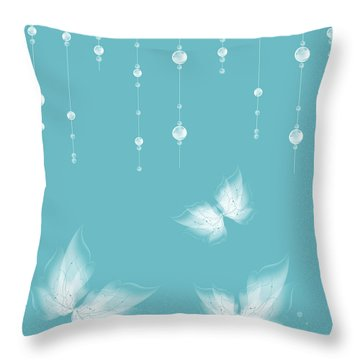 Art En Blanc - S11a Throw Pillow by Variance Collections