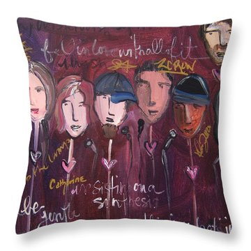 Art From Ashes 2010 Throw Pillow