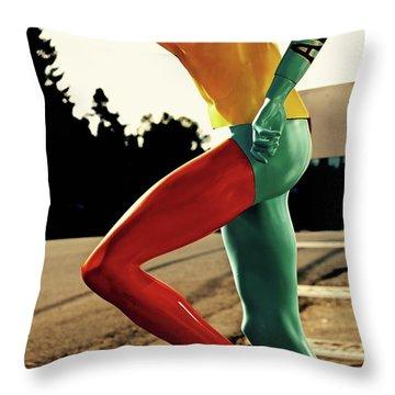 Art Gallery Runner Throw Pillow