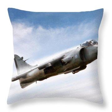 Art In Motion Throw Pillow