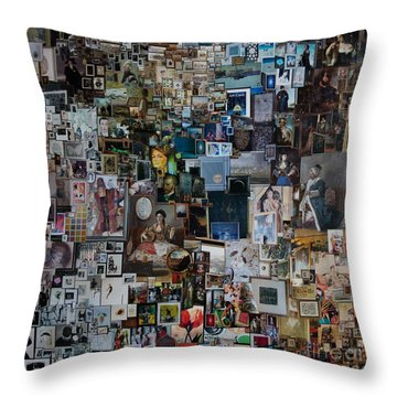 Art In Quotations Throw Pillow