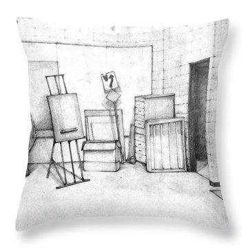 Art Intro Throw Pillow