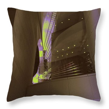 Art-itecture Throw Pillow