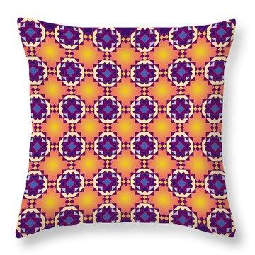 Art Matrix 001 A Throw Pillow
