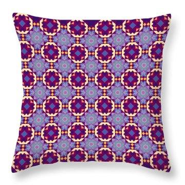 Art Matrix 001 B Throw Pillow