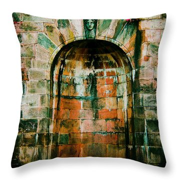 Art Museum Arch Throw Pillow
