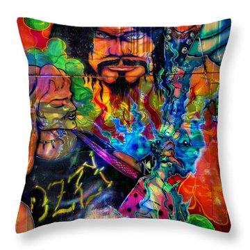 Art Of The Fair Throw Pillow by Greg Sharpe