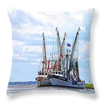 Art Of The Turn Throw Pillow