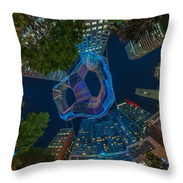 Art On The Greenway 1 Throw Pillow