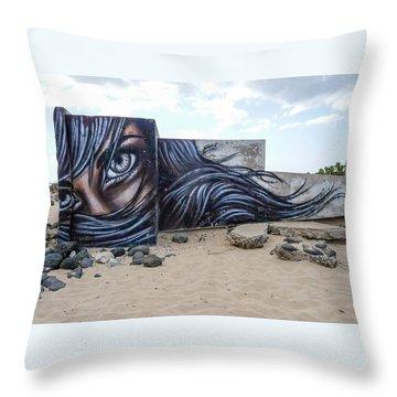 Art Or Graffiti Throw Pillow