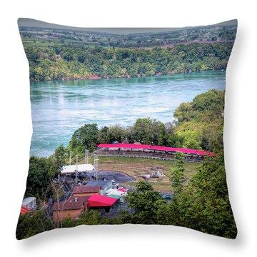 Art Park Throw Pillow