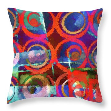 Art Poster Paint Throw Pillow