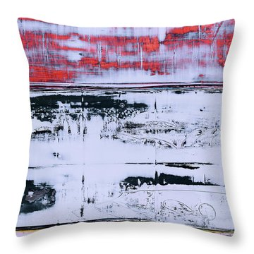 Art Print Abstract 99 Throw Pillow