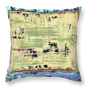 Art Print California 01 Throw Pillow