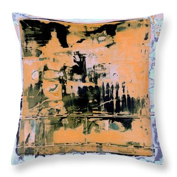 Art Print California 07 Throw Pillow