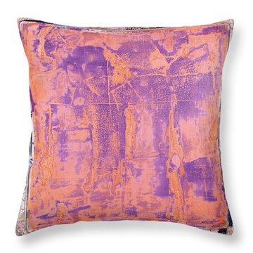Art Print California 09 Throw Pillow