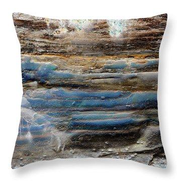 Art Print Cliff 1 Throw Pillow