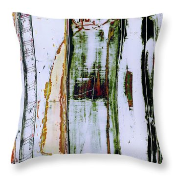 Art Print Forest Throw Pillow