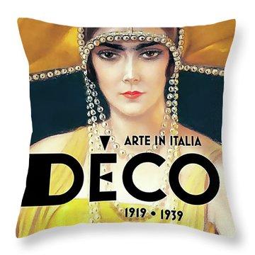 Arte In Italia Throw Pillow