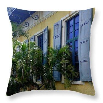 Artful Throw Pillow by Lois Lepisto