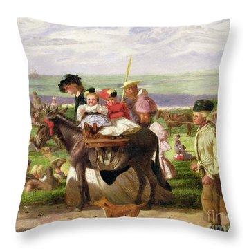 Arthur Boyd Houghton  Throw Pillow