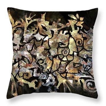 Artifacts Throw Pillow