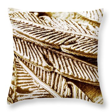 Artificial In Elegance    Throw Pillow