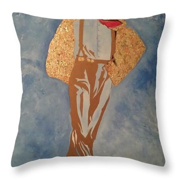 Artist Throw Pillow by Dr Frederick Glover