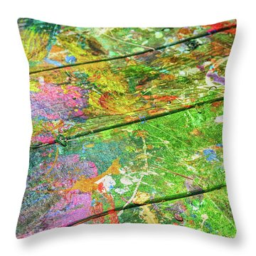 Art Space Throw Pillow