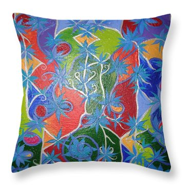 Artistic Acomplishments Throw Pillow