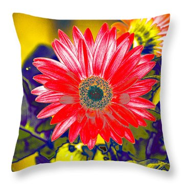Artistic Bloom - Pla227 Throw Pillow