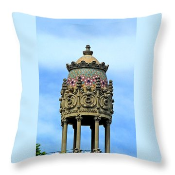 Artistic Roof Throw Pillow