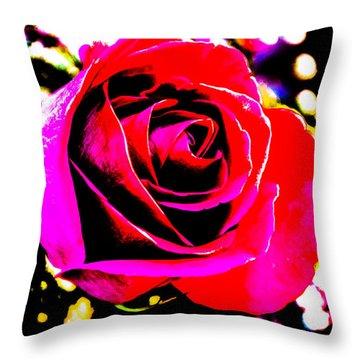 Artistic Rose - 9161 Throw Pillow