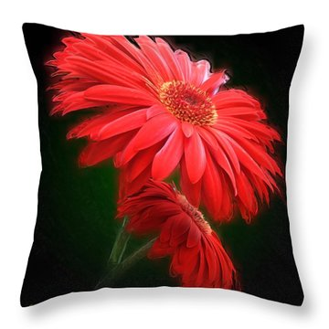 Artistic Touch Throw Pillow
