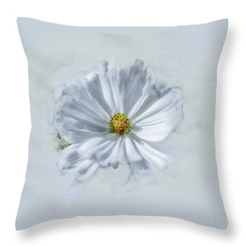 Artistic White #g1 Throw Pillow