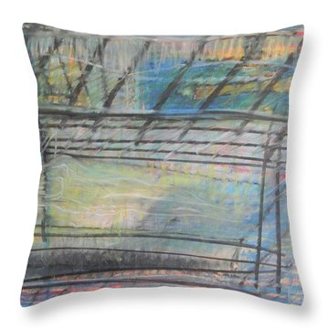 Artists' Cemetery Throw Pillow