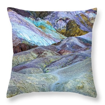 Artist's Palette Throw Pillow