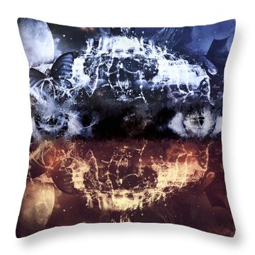 Artist's Vision Throw Pillow