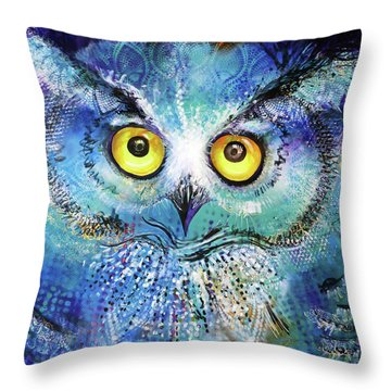 Artprize #2 Baby Blue Throw Pillow