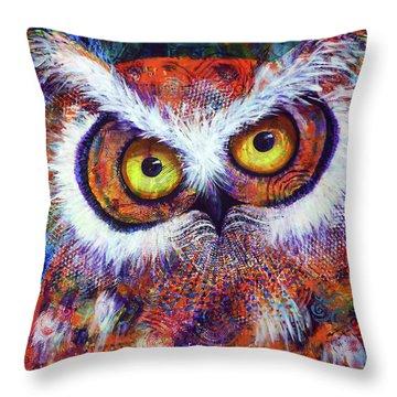 Artprize #3 Hooter Throw Pillow