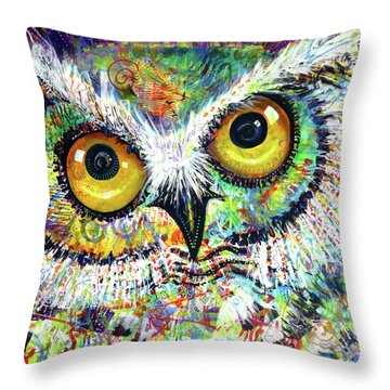 Artprize Hoo's The Artist Audience Participation Throw Pillow